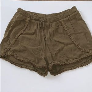 Mossimo Olive Green Short